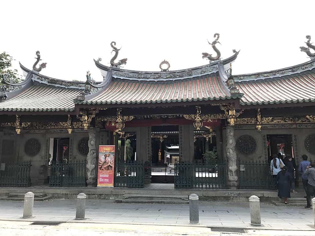 thian hock keng temple singapore telok ayer