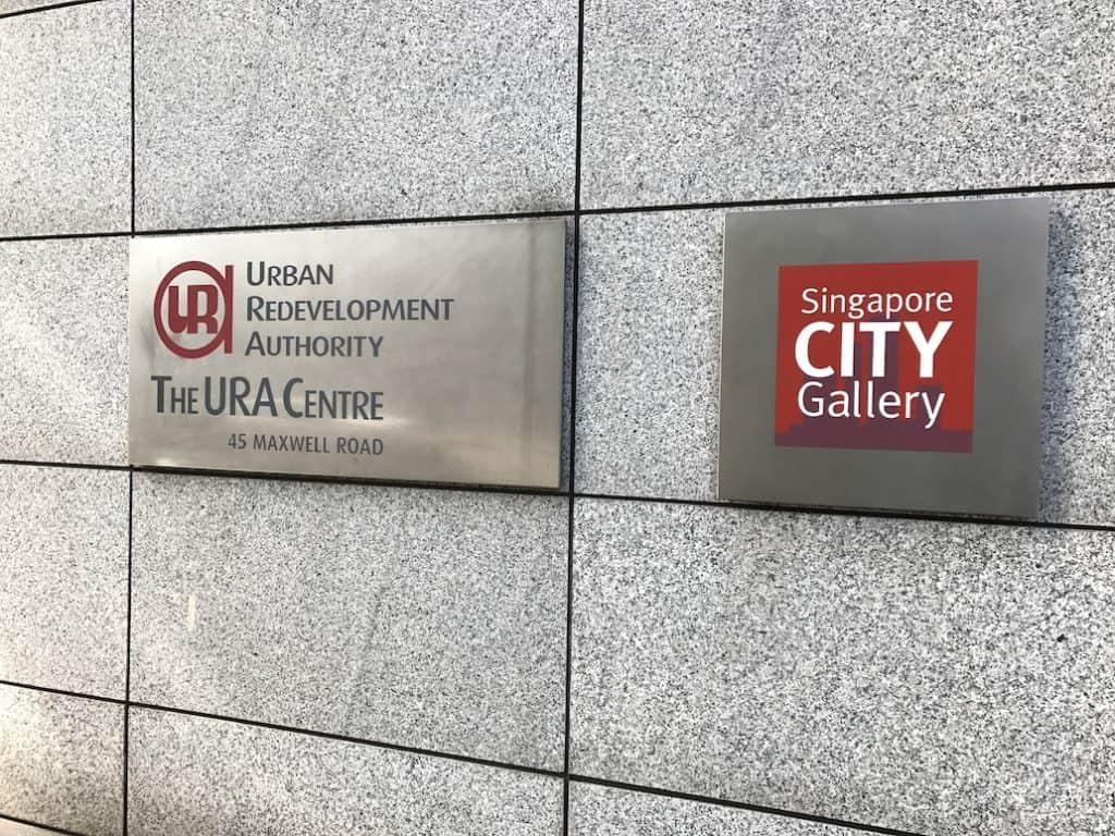 singapore city gallery ura