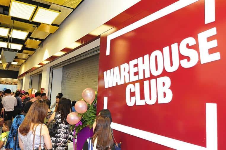 warehouse club west