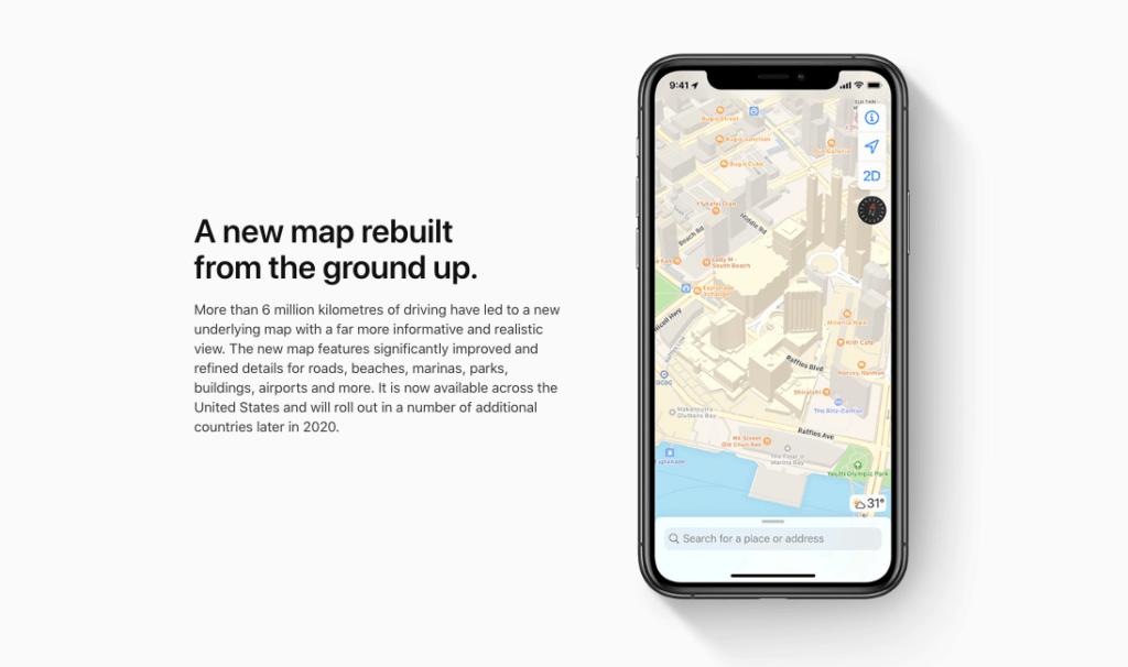 apple map transport app singapore