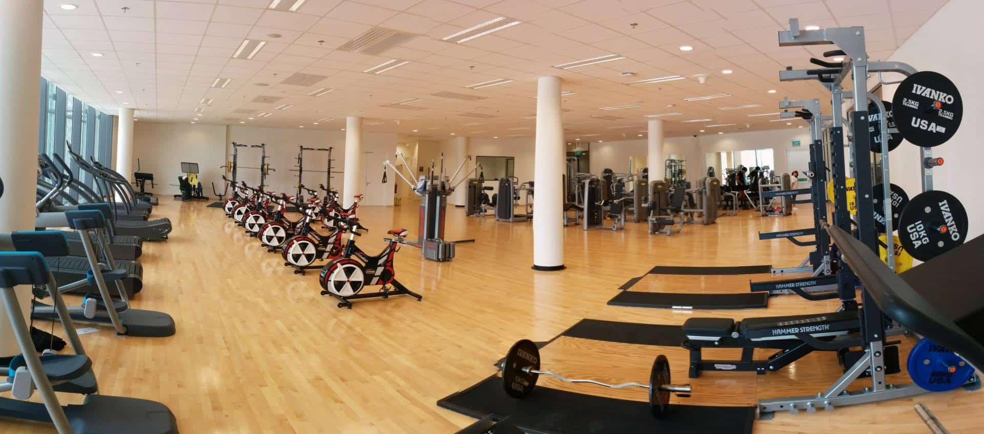 Sports Hub Gym singapore