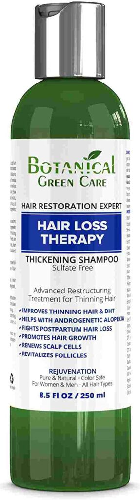 best singapore shampoo for hair loss