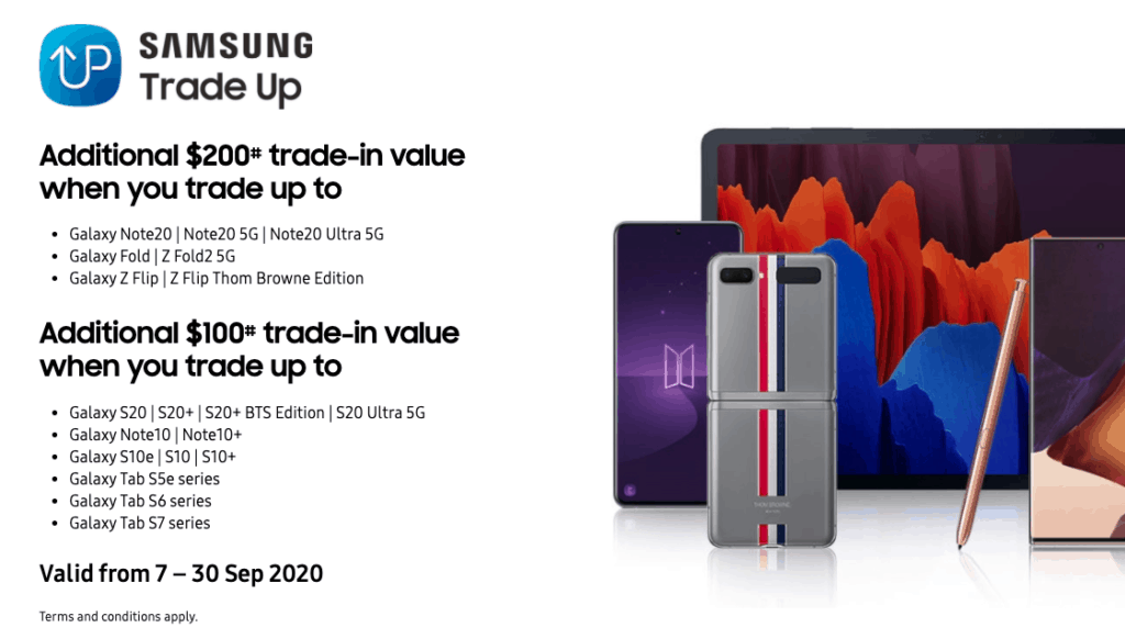 samsung trade up singapore