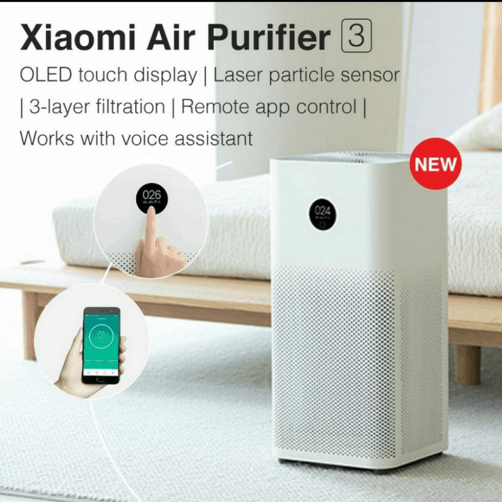 xiaomi air purifier 3 singapore