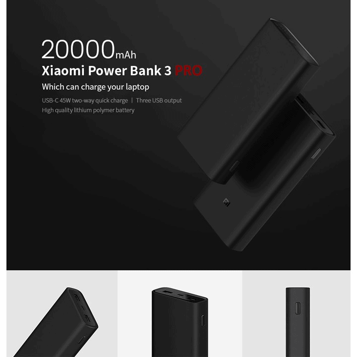 xiaomi gen 3 pro powerbank singapore